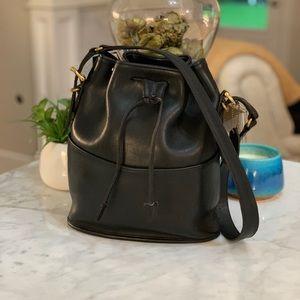 COACH VINTAGE EQUESTRIAN DRAWSTRING BUCKET BAG